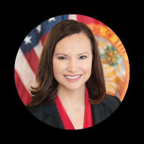 Florida Attorney General Ashley Moody Portrait